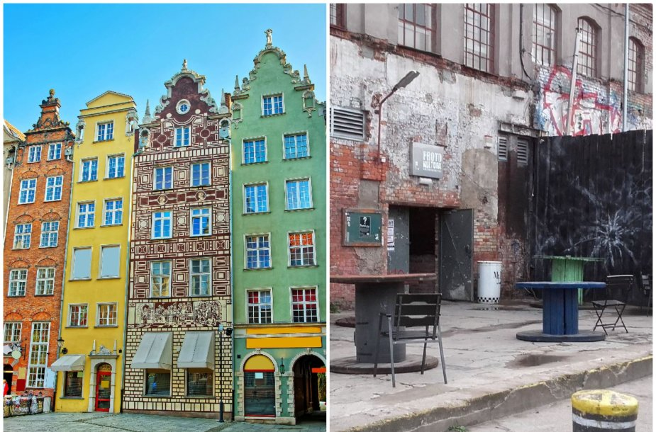 Gdanske aplankykite ne tik senamiestį, bet ir laivų statyklą