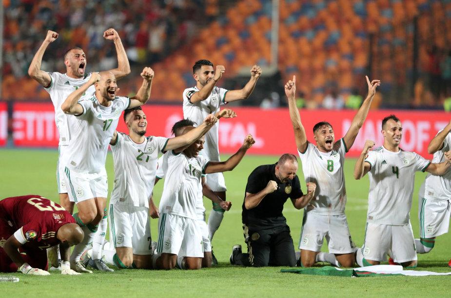 Alžyro futbolo rinktinė