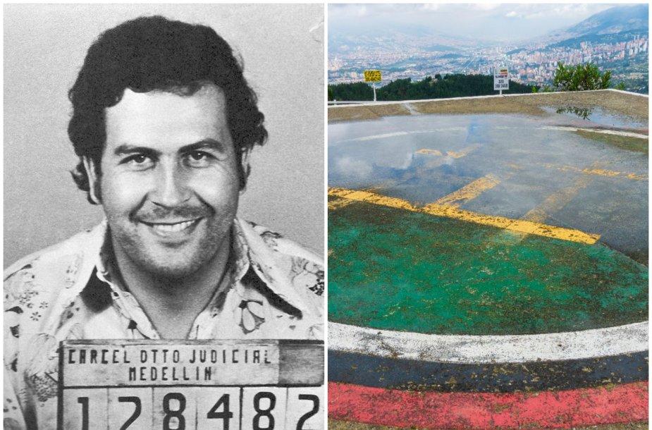 """Pablo Escobaras ir asmeninis jo """"kalėjimas"""""""