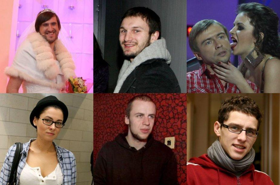 Lietuvos žvaigždės prieš 10 metų