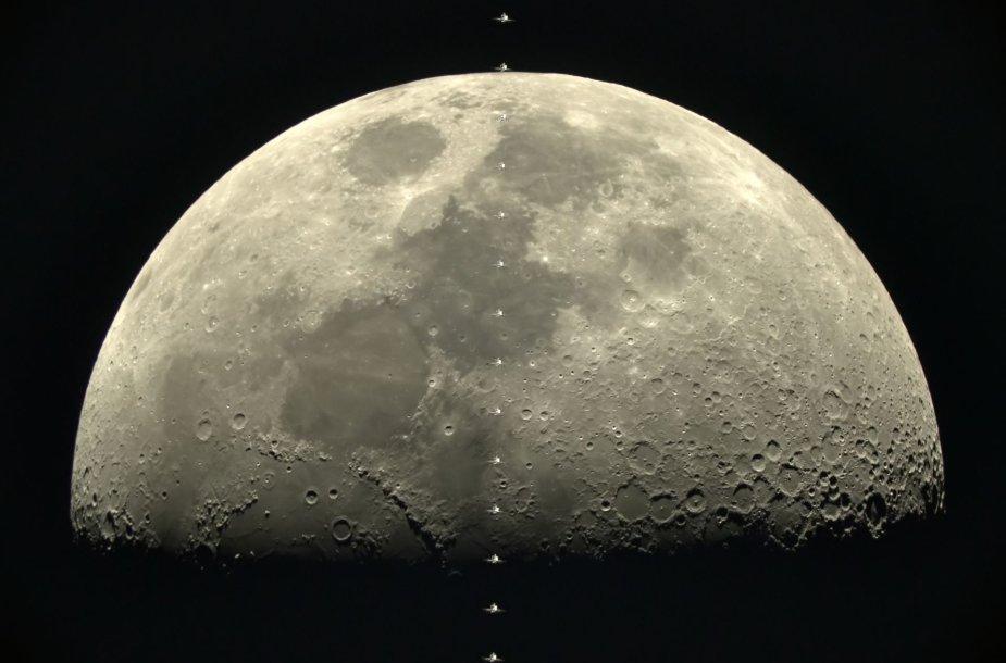 Mėnulis ir TKS