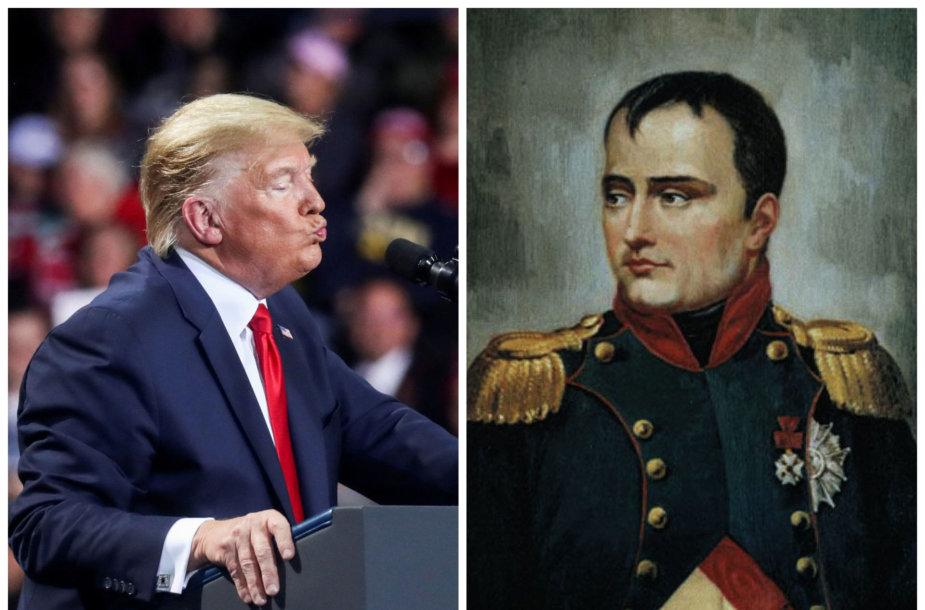 Donaldas Trumpas ir Napoleonas Bonapartas