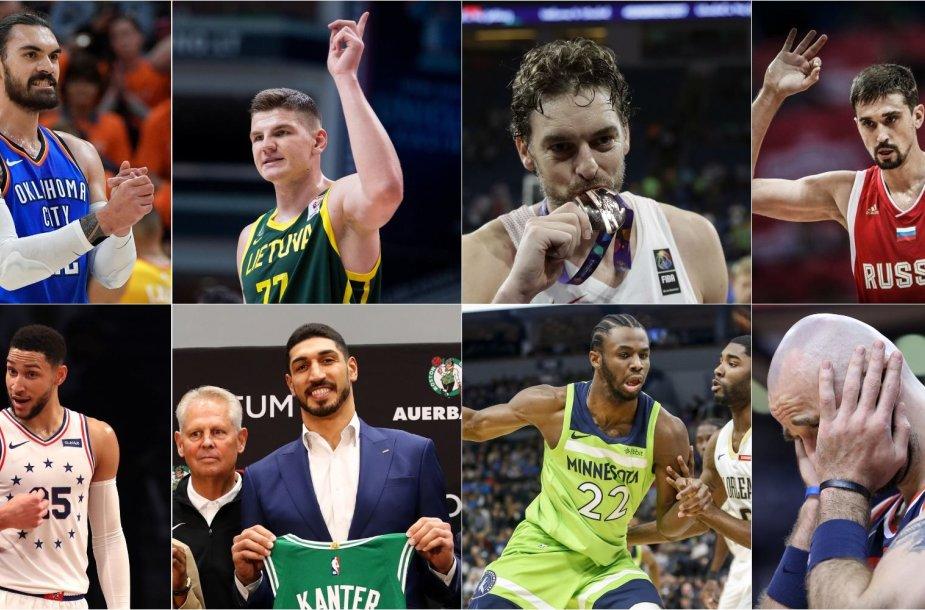 Pasaulio krepšinio čempionate trūks ryškių krepšinio asmenybių.
