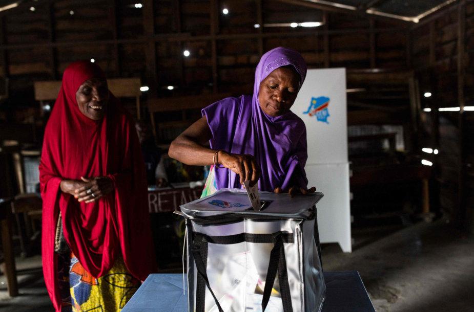 Kongo Demokratinėje Respublikoje vyksta prezidento rinkimai