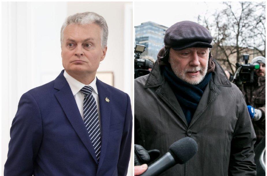 Gitanas Nausėda ir Konstantinas Gurinas