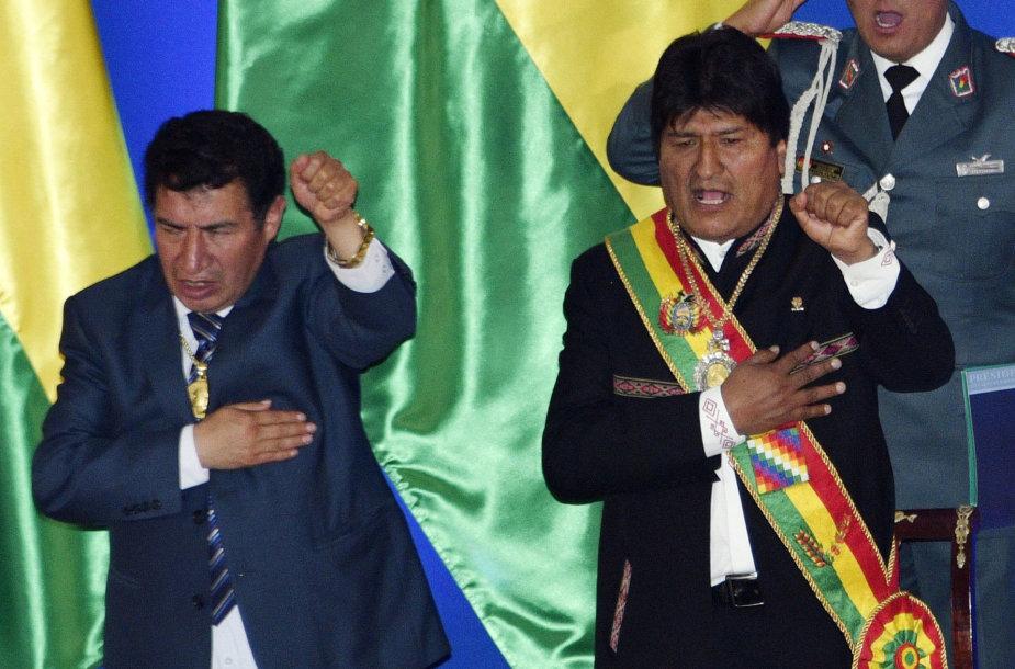 Victoras Borda (kairėje)