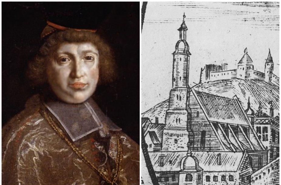 Jonas iš Lietuvos kunigaikščių ir Vilniaus katedra XVII a. pradžioje