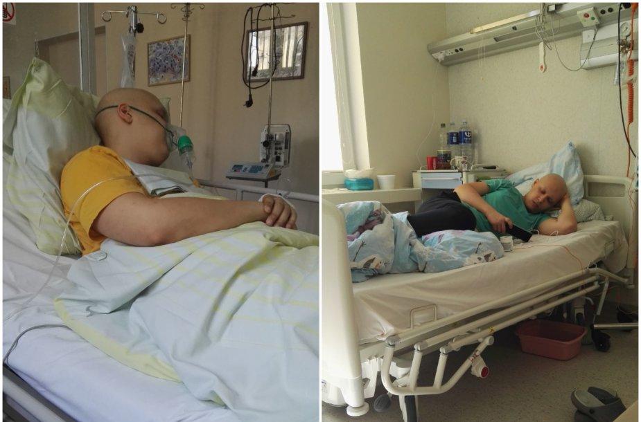 Jonas ligoninėje