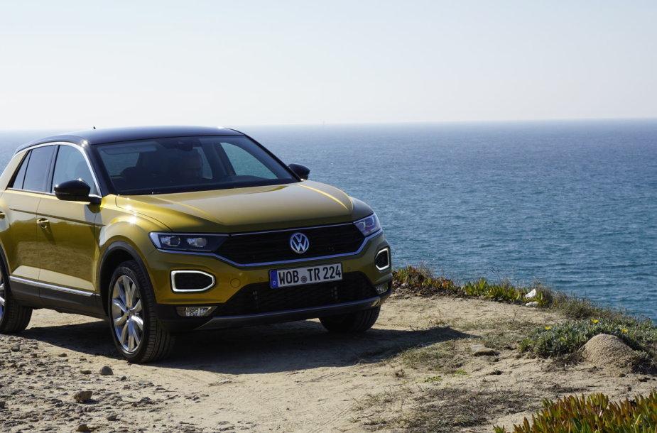 """T-Roc"" – naujo ""Volkswagen"" modelio – bandymas Portugalijoje."