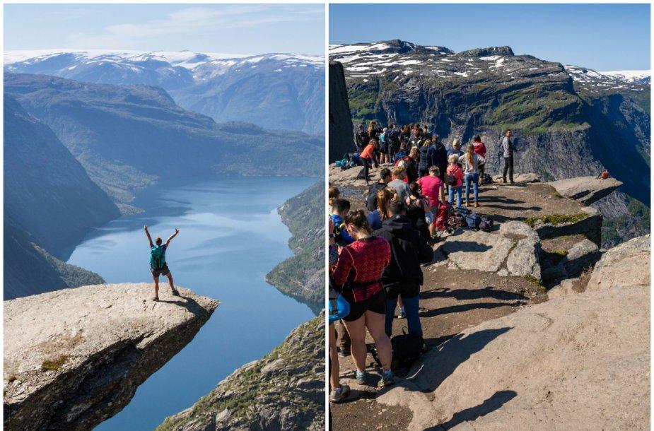 Trolltunga Norvegijoje