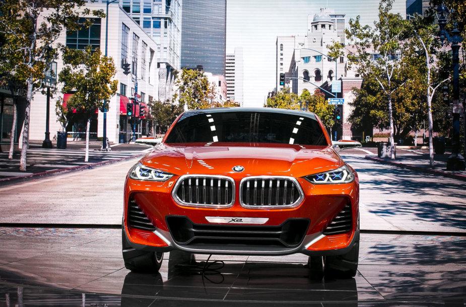BMW X2 konceptas