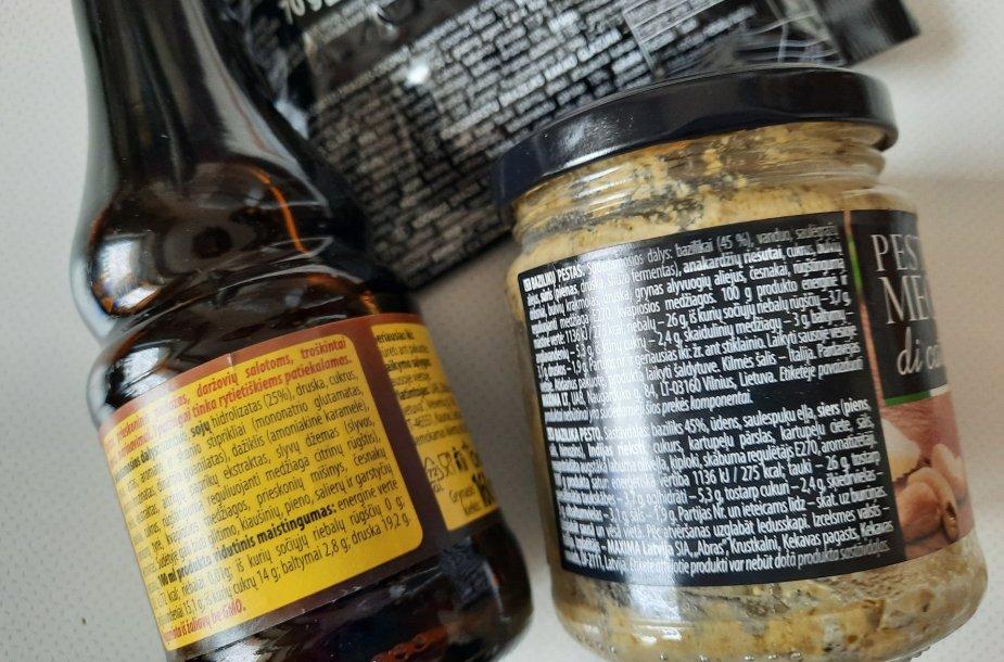 Maisto priedų gausu daugelyje produktų
