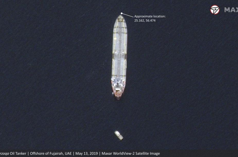 Saudo Arabijos tanklaivis