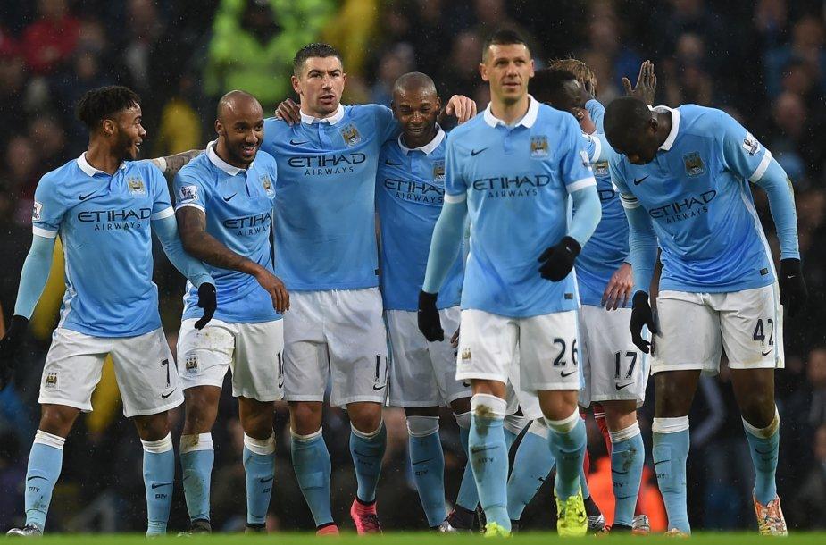 """Man City"" futbolininkai"