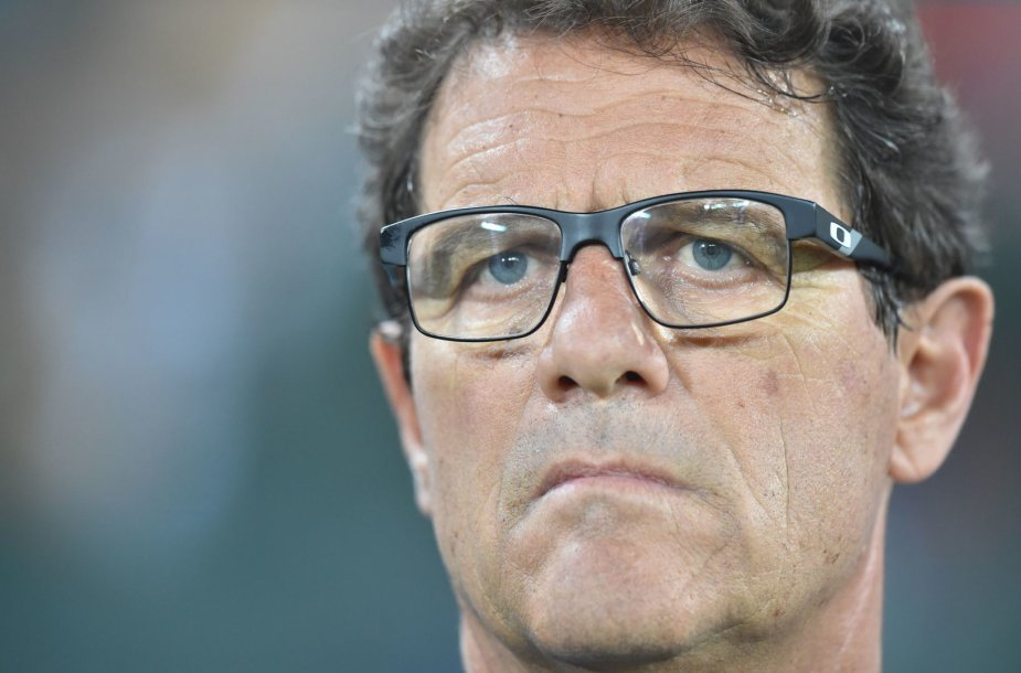 Rusijos futbolo rinktinės treneris Fabio Capello
