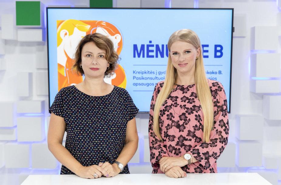 15min studijoje – Izabelė Juškienė ir Sigita Burokienė