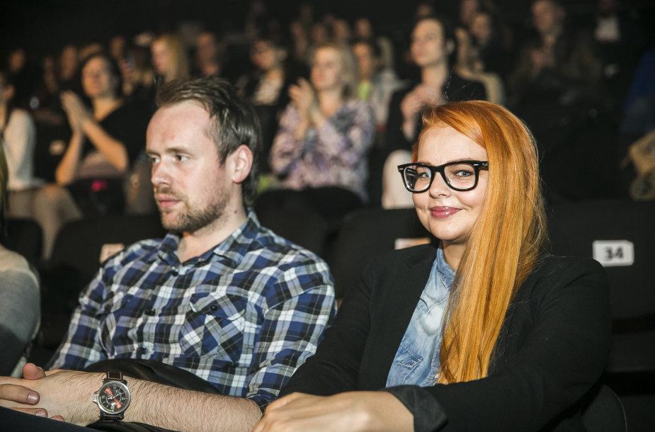 Gintarė Valaitytė ir Vytautas Bikus