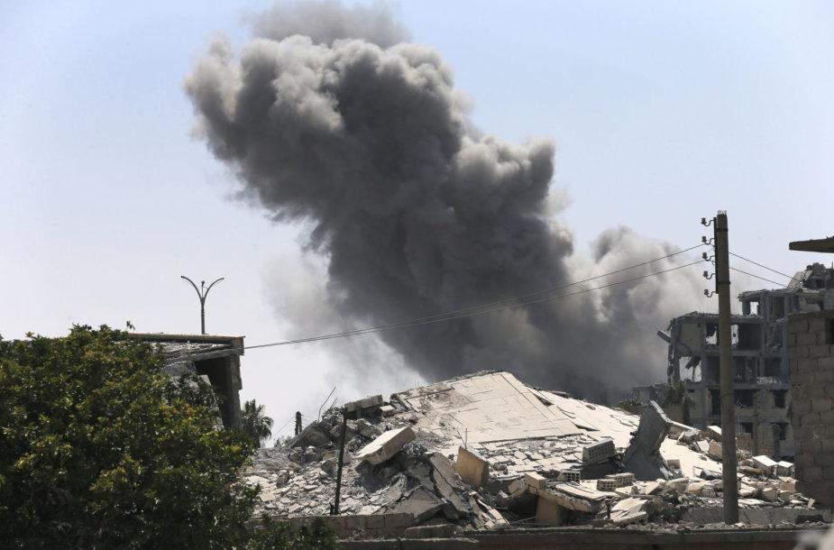 Per JAV aviacijos smūgį žuvo 8 irakiečiai
