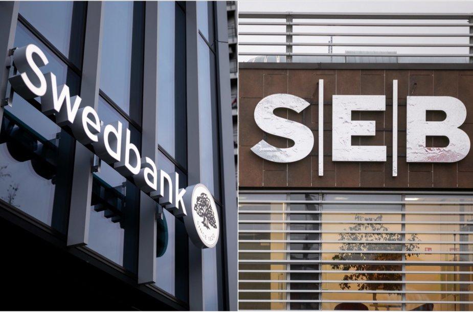 """""""Swedbank"""", SEB bankas"""