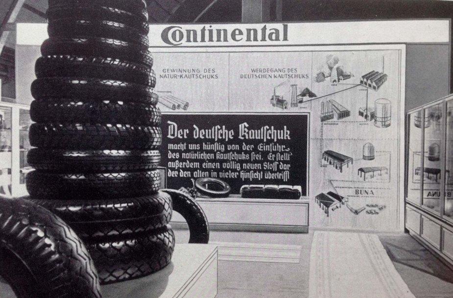 """""""Continental"""" rengiasi paskelbti tyrimą apie savo bendradarbiavimą su nacių režimu"""