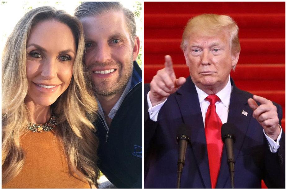 Ericas Trumpas, Lara Trump ir Donaldas Trumpas