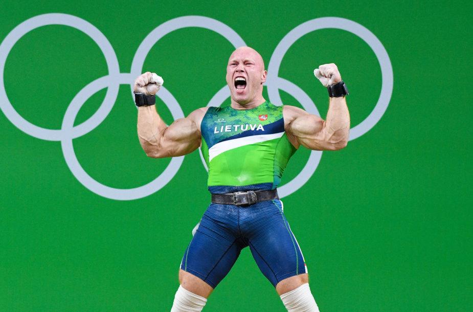 Aurimas Didžbalis iškovojo Rio bronzą