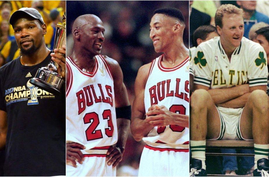 Išrinkta geriausia NBA komanda