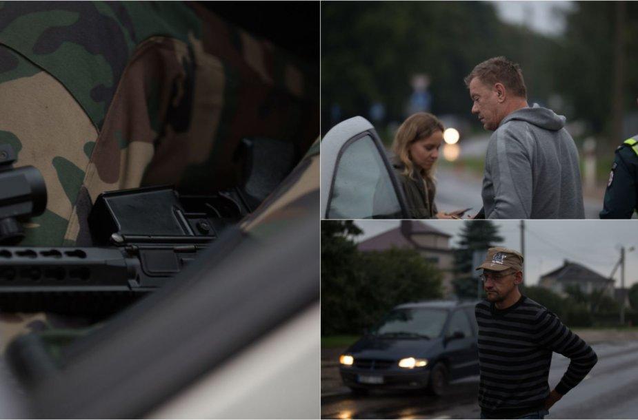 Policijos reidas Kaune: neblaivūs vairuotojai ir areštuota mašina