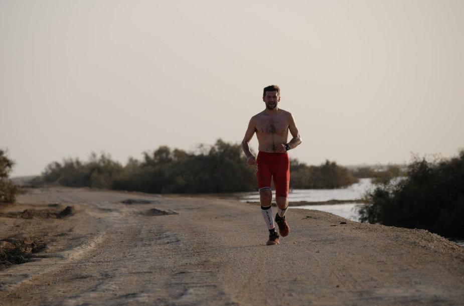 Dakaras–Vilnius bėgte: Aidas Ardzijauskas įveikė 3 000 km