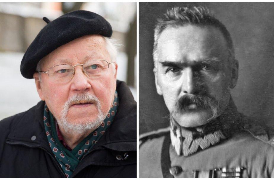 Vytautas Landsbergis ir Juzefas Pilsudskis