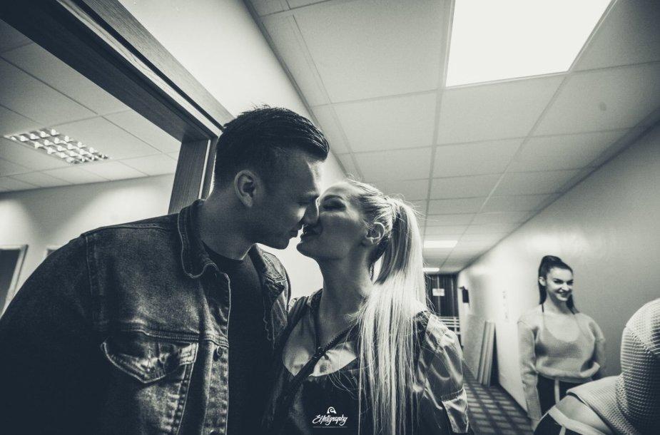 Natalija Bunkė ir Edgaras Eidėjus
