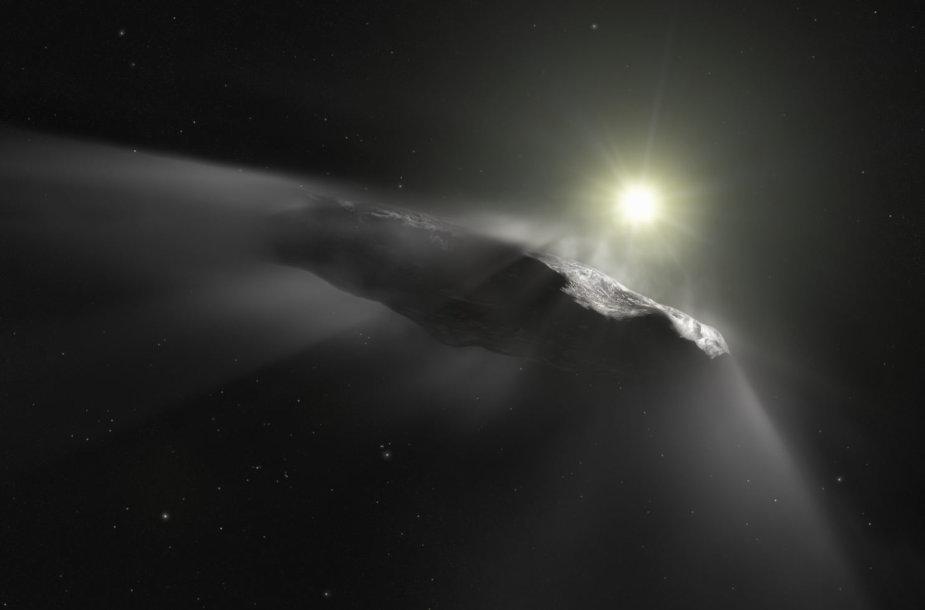 Tarpžvaigždinis objektas Oumuamua