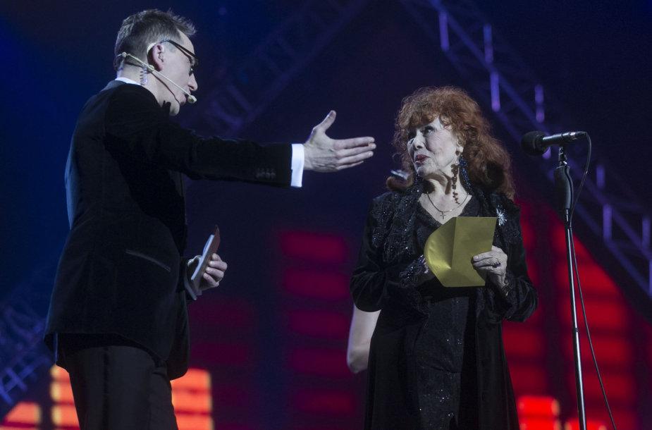Andrius Rožickas ir Nelė Paltinienė
