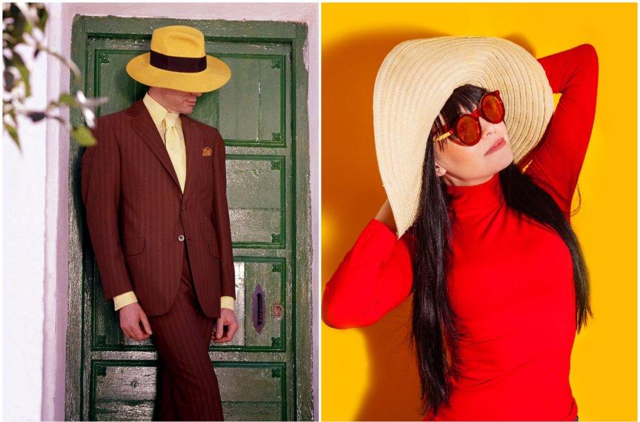 Skrybėlės – elegantiškas aksesuaras tiek vyrams, tiek moterims