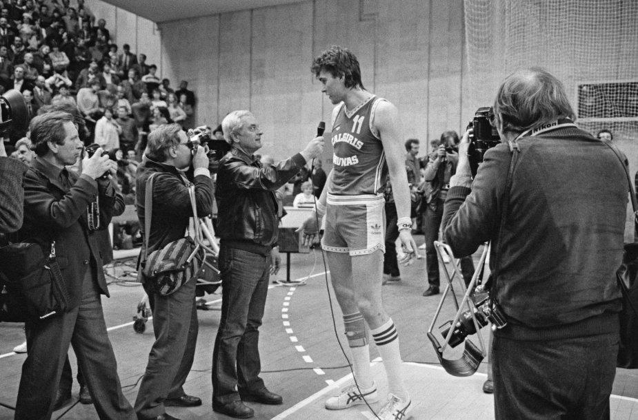 Arvydas Sabonis 1983 m.