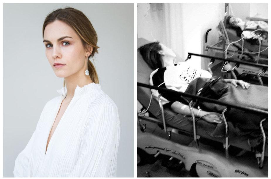 Julija Steponavičiūtė pateko į  automobilio avariją
