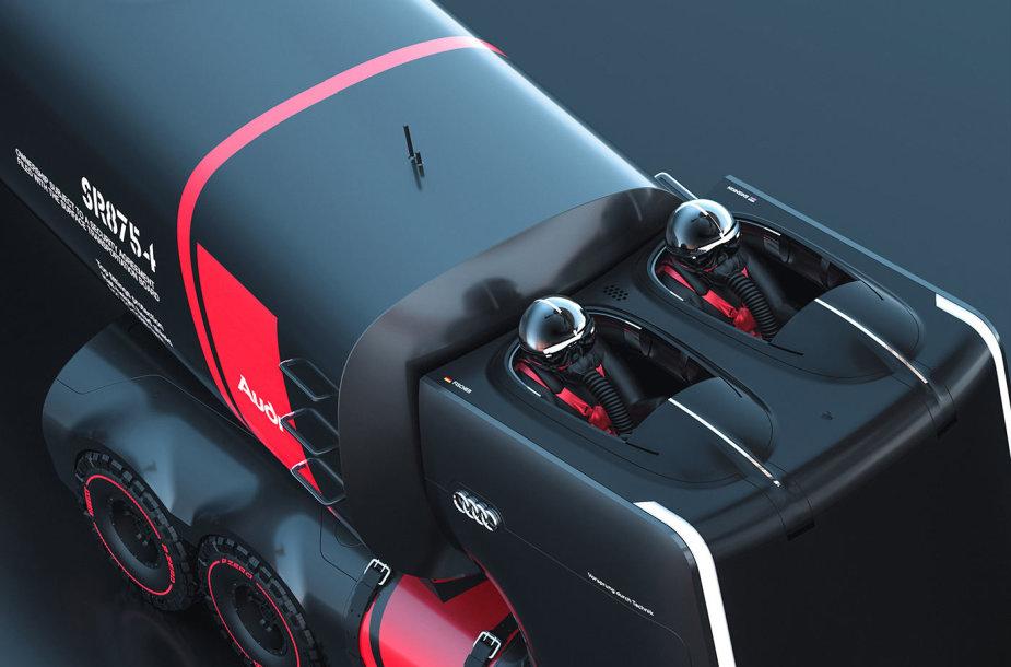 """""""Audi"""" sunkvežimių koncepcijos"""