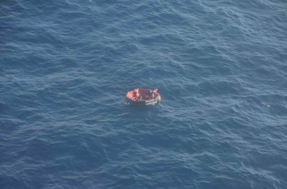 "Atlanto vandenyne nuskendo aprūpinimo laivas ""Bourbon Rhode"""