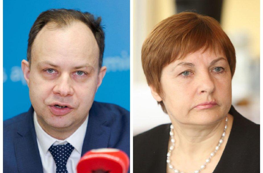 Aurelijus Veryga, VIda Augustinienė