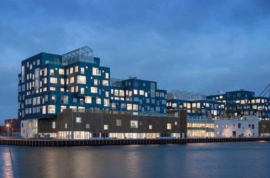Kopenhagos mokykloje įrengtos saulės panelės