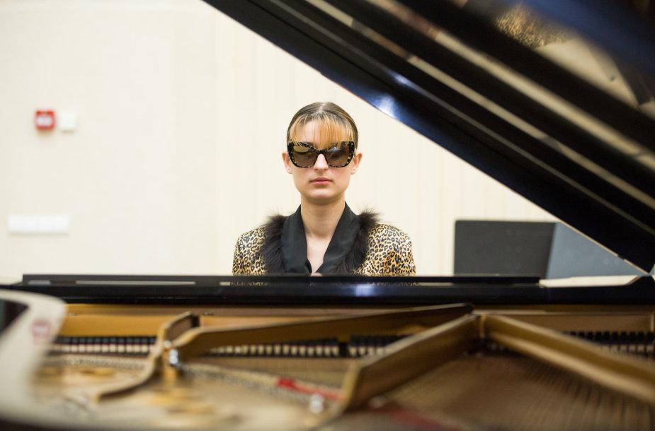 Neregė pianistė Silvija Beatričė Petkevičiūtė