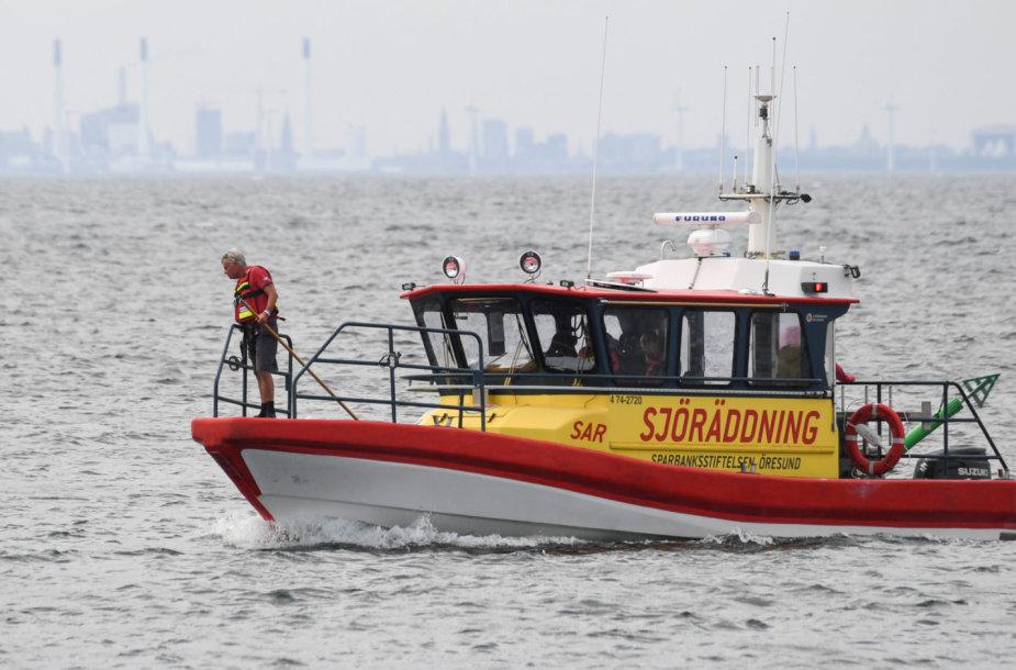 Danijos policija ieško mįslingai  dingusios švedų žurnalistės
