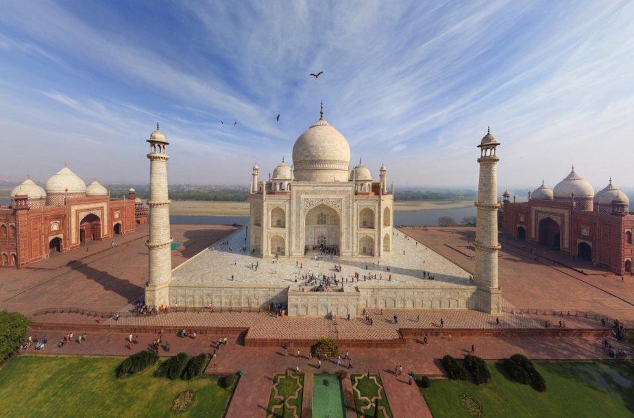 Tadž Mahalas, Indija