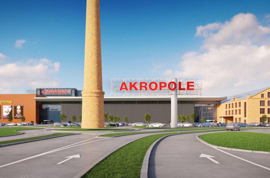 """Taip atrodys Rygos """"Akropolis"""""""