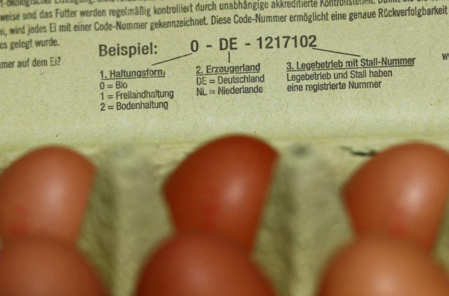 Plečiantis skandalui dėl insekticido, naikinami milijonai olandiškų kiaušinių