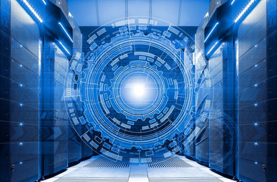 Superkompiuteris / 123rf nuotr.