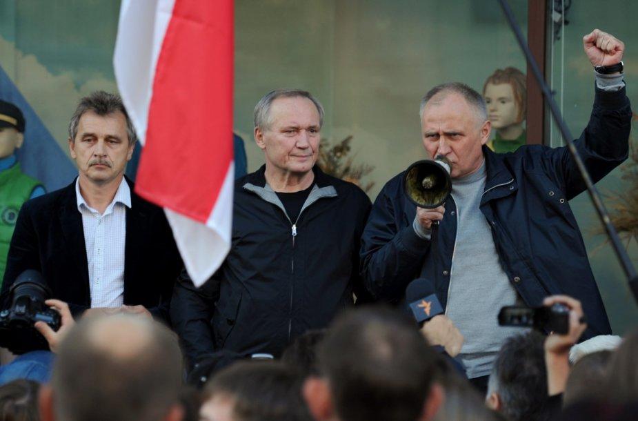 Baltarusijos opozicijos mitingas
