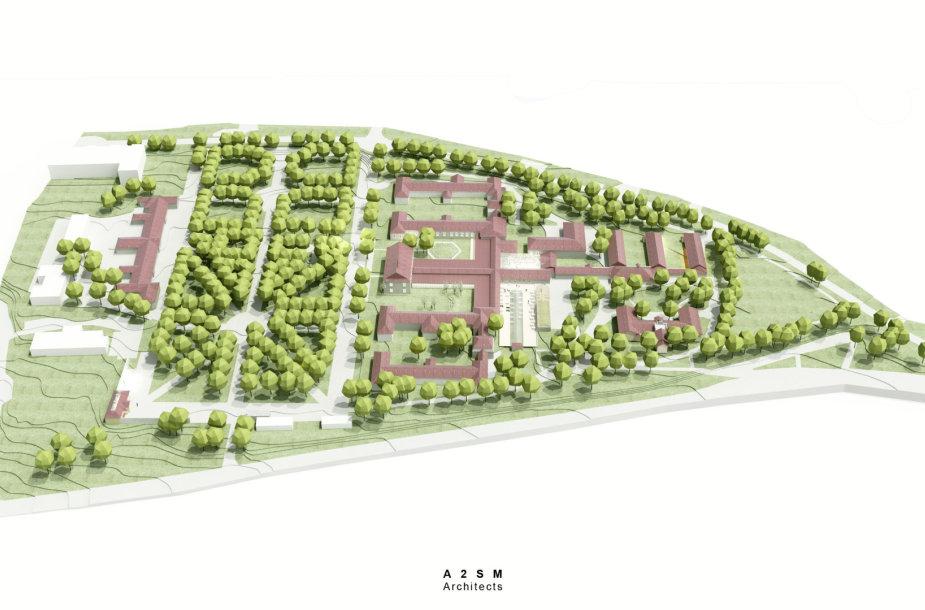 """""""Vilnius Tech Park"""" vizualizacija"""