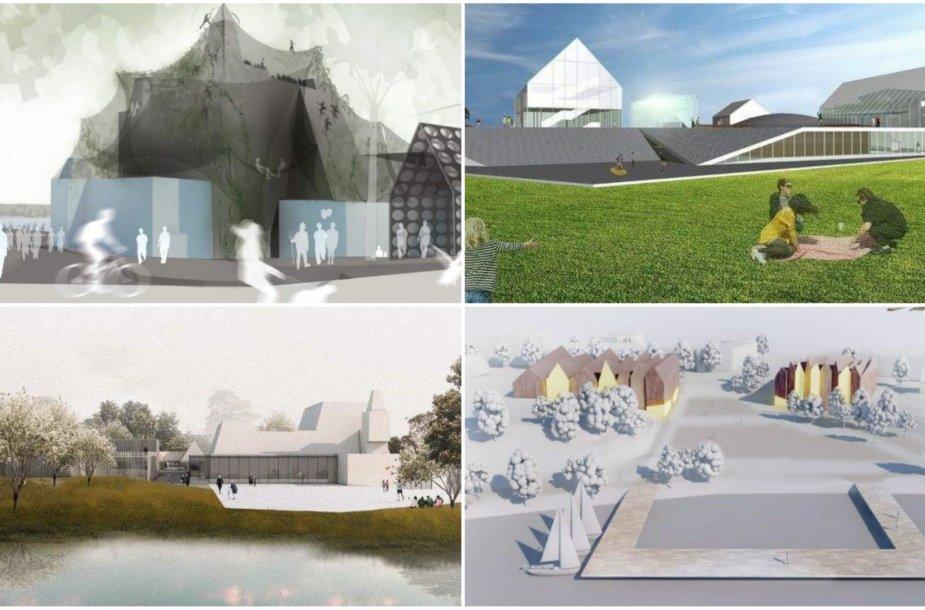 Architektų pasiūlymai