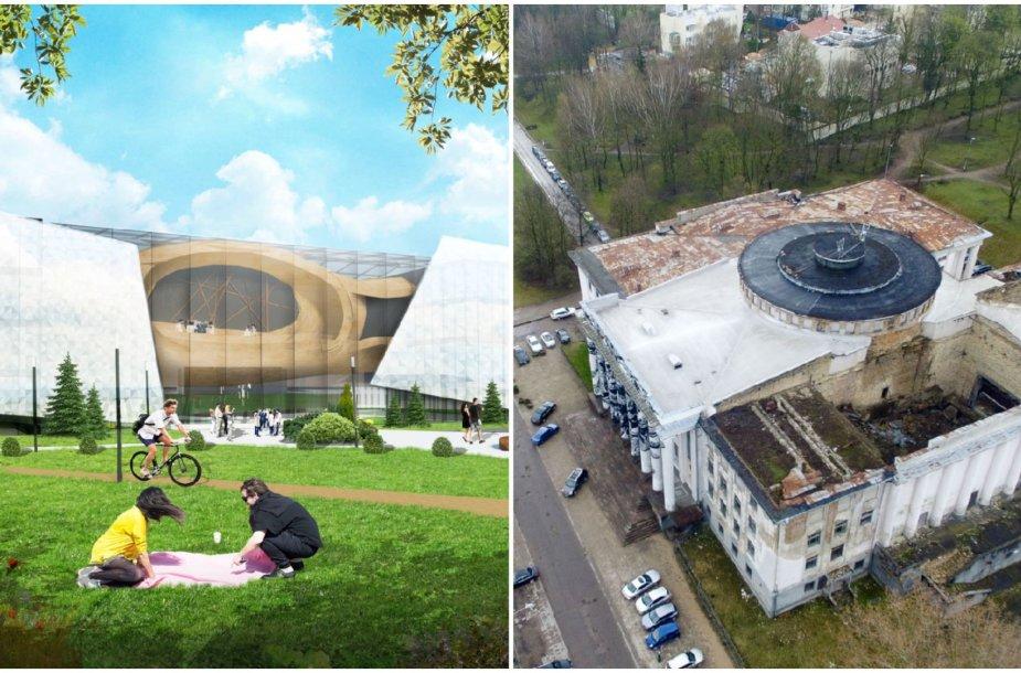 Architektai pasiūlė Tautos namų ant Tauro kalno viziją